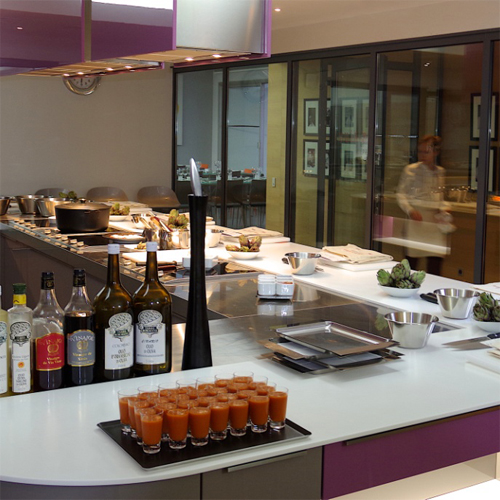 cooking class in Paris Haute Cuisine